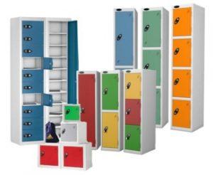 school lockers, student lockers, probe lockers, low lockers, plastic lockers, laminate door lockers