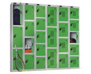 sports lockers, gym lockers, golf locker, club lockers, perforated door lockers