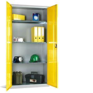 Standard Shelved Steel Cupboard