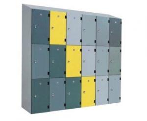 Solid Grade Laminate Lockers