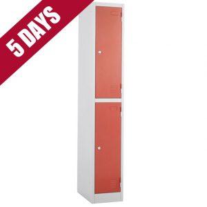 atlas express fast quick delivery 2 door tier locker fasttek