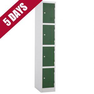 atlas express fast quick delivery 4 door tier locker fasttek