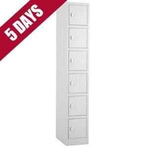 atlas express fast quick delivery 6 door tier locker fasttek