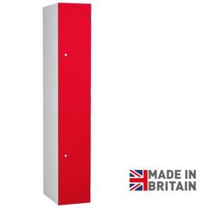 Premier Laminate Door Locker for dry areas 2 door