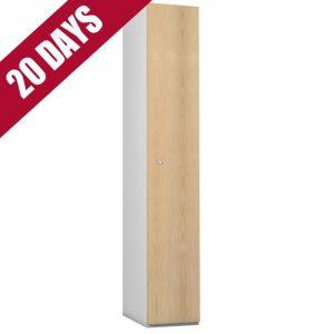 Probe Timberbox Timber Door Locker Ash