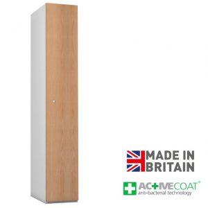 Probe Timberbox 1 Door Locker Oak