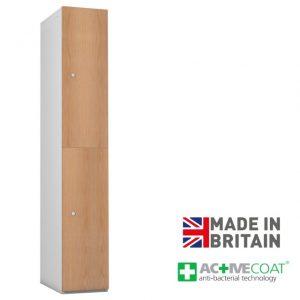 Probe Timberbox 2 Door Locker Oak