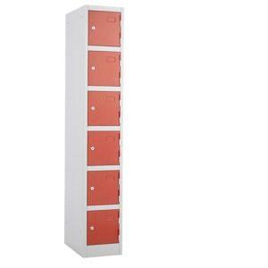 6 door lockers, express delivery lockers