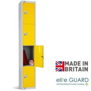 elite full height locker 4 door tier