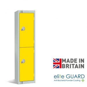 Elite low primary school student locker 2 door