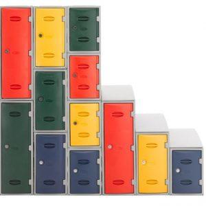 eXtreme Modular Plastic Lockers