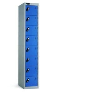 8 door lockers, probe 8 door lockers