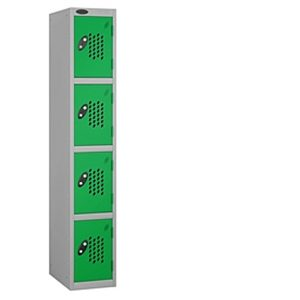 perforated door locker