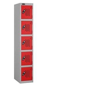 perforated door lockers