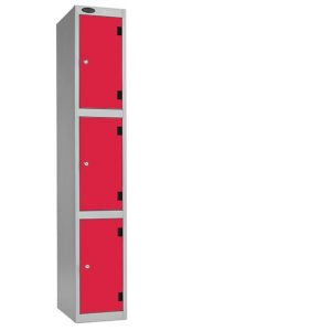 3 door laminate locker