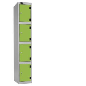 4 door laminate locker, shockbox 4 door laminate locker