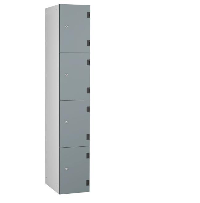 4 door laminate locker