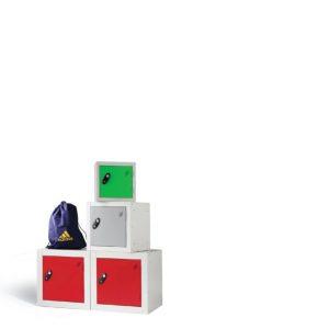 cube, quarto, lockers