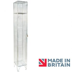 Wire Mesh Locker 1 door amp crown Robinsons