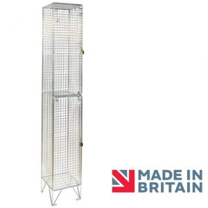 Wire Mesh Locker 2 door amp crown Robinsons