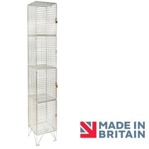 Wire Mesh Locker 4 door amp crown Robinsons