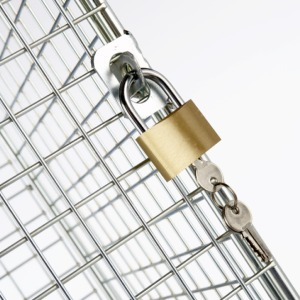 wire mesh hasp lock