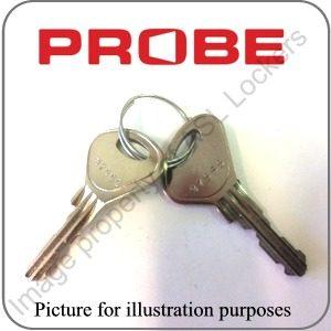 Probe Lockers Replacement Keys | Key Series 36001 - 37999