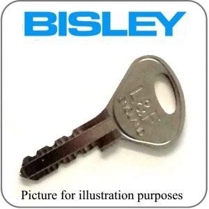 Bisley locker key 95 96 97 98 series replacement key
