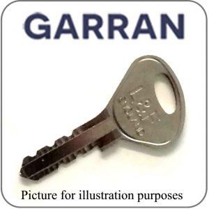 garran locker key L&F G1 G2 G3 G4 G5 G6 G7 G8 G9 series replacement key