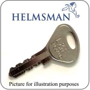 helmsman locker key L&F 95000-97000 series replacement key