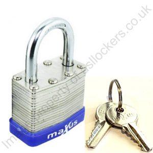 Maxus ASL laminated padlock 40 mm