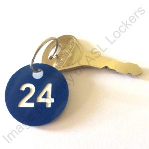 plastic trafolyte key fob number disc lockers