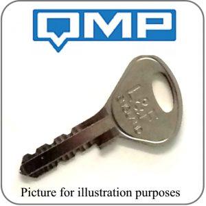 qmp locker key L&F 97 98 replacement key