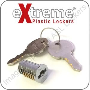 extreme plastic locker replacement key cam lock