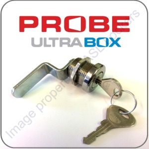 probe ultrabox plastic locker cam lock