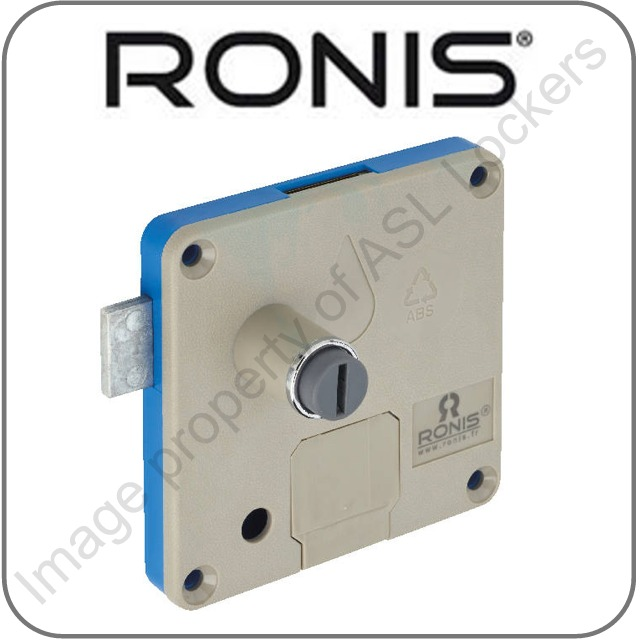 ronis wet area £1 coin operated lock for lockers