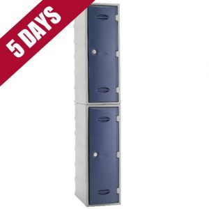 extreme ultrabox supertuff plastic outdoor waterproof 2 door lockers