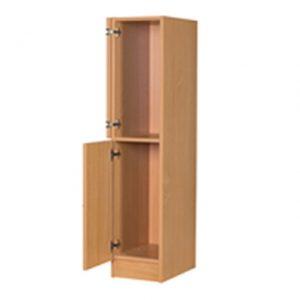 Premium primary school low wood locker