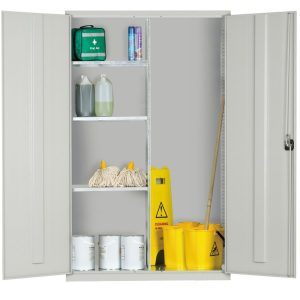Extra Wide Janitors Cupboard