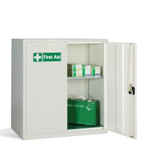 Steel low medical cabinets