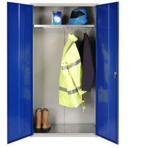 Steel PPE wardrobe cupboard