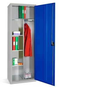 Slim Steel Janitors Cupboard
