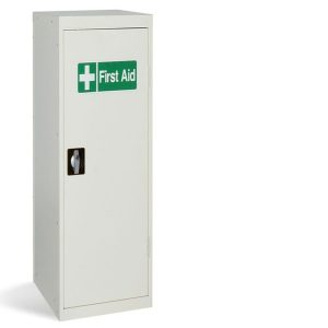 steel slim medical first aid cabinet
