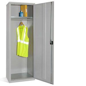 Steel Slim Wardrobe Cupboard