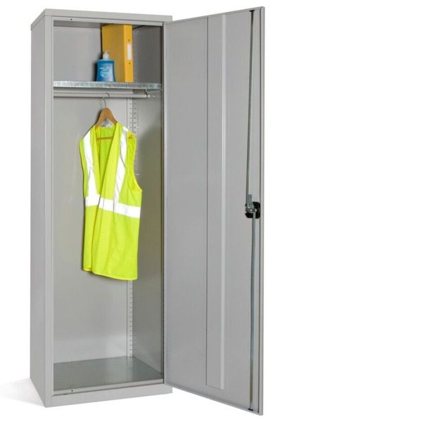 Steel Slim Wardrobe Cupboard