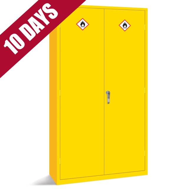 Hazardous dangerous chemical acid toxic substance cabinets cupboards storage