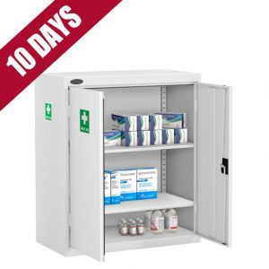 Low medical cabinet first aid cupboard