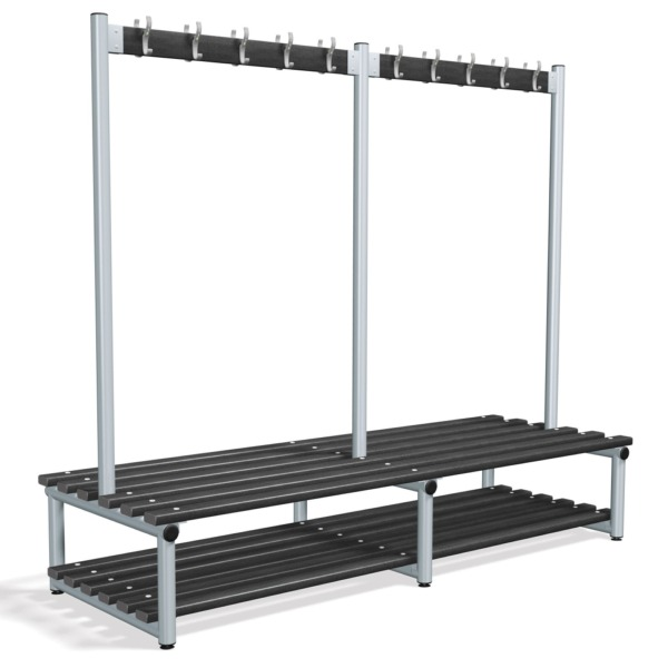 Premier double peg frames base shelf