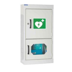 wall mounted defibrillator cabinets