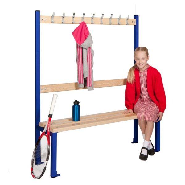 Standard Single sided cloakroom bench